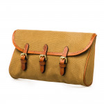 Redfern Cleaning Pouch with Accessories in Sand & Mid Tan