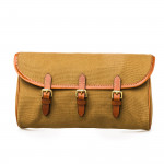 Redfern Cleaning Pouch in Sand & Mid Tan