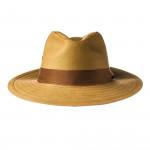 Safari Hat with Brown Herringbone Band