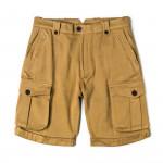 Safari Shorts in Brushed Sand