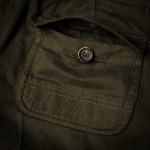 Safari Shorts in Brushed Green