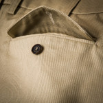 Pathfinder Twill Shorts in Stone