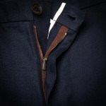 Pathfinder Twill Trousers in Midnight Blue