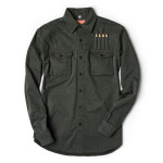 Expedition Shirt in Brushed Bush Green