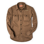 The Expedition Shirt in Brushed Fawn