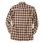 Men's Fine Cotton Shirt in Blue Buffalo Check