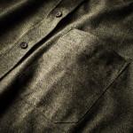 Men's Fine Cotton Shirt in Forest