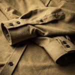 Men's Fine Cotton Shirt in Sahara