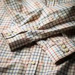 Men's Deluxe Tattersall Shirt in Multi-Coloured