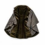 T.ba Reversible Tweed Short Cloak