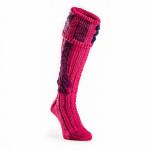 Vaynor Shooting Sock in Cyclamen