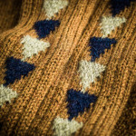 Whitfield Shooting Sock in Amber Marl