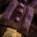 Vaynor Shooting Sock in Walnut Marl