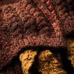 Molland Shooting Sock in Bark