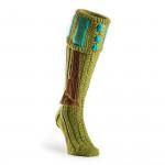 Vaynor Shooting Sock in Apple