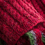 Chargot Shooting Sock in Rage Red