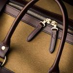 Medium Sutherland Bag in Sand & Dark Tan