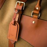 Medium Sutherland Bag in Safari and Mid Tan