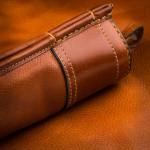 Deeley Shotgun Slip - Pair- Mid Tan Patterned