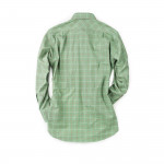Tattersall Shirt in Olive/ Red