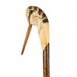 Hand Carved Country Woodcock Walking Stick