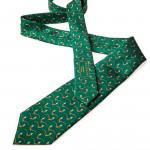 Silk Pheasant tie in Dark Green