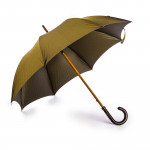 Herringbone Umbrella with Maple Handle