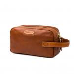 Bournbrook Wash Bag in Mid Tan