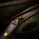 Eastman Takedown Slip in Hunter Green & Dark Tan