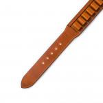 12 Gauge Leather Cartridge Belt in Mid Tan