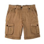 Safari Shorts in Brushed Fawn