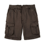 Safari Shorts in Brushed Bark