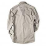 Men's Fine Cotton Shirt in Dove Grey