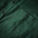 Men's Fine Cotton Shirt in Emerald