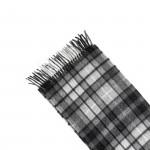 Pure Cashmere Scarf in Grey Buchanan