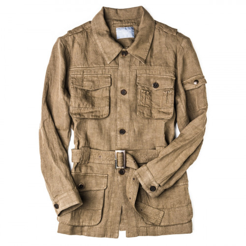 Bushveld Lightweight Safari Jacket in Wild Grass